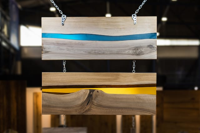 hanging epoxy resin boards